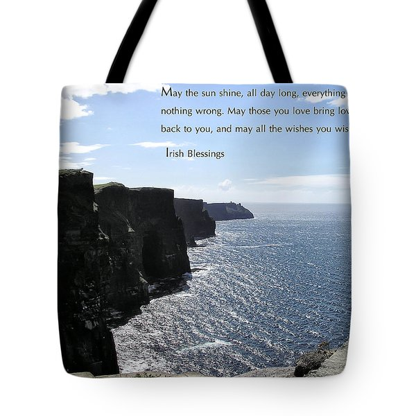 May the Sun Shine all Day Long Tote Bag by Jerry Cannon