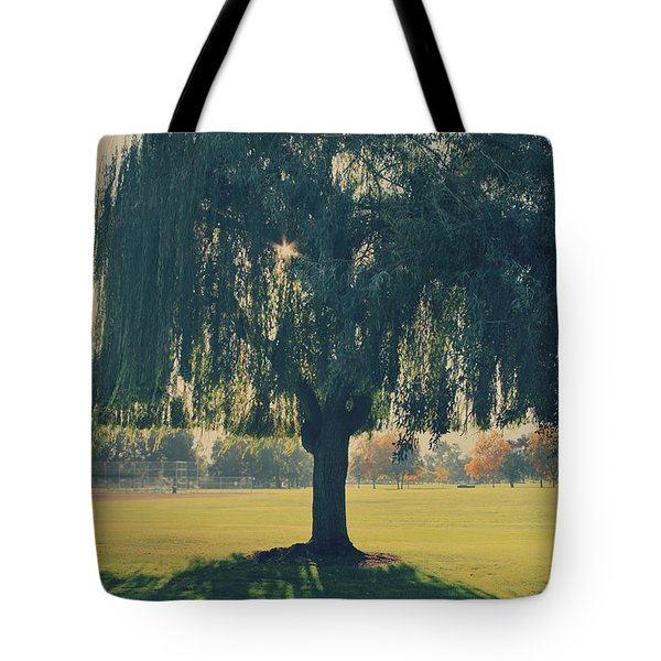Maybe We'll Find It Someday Tote Bag by Laurie Search