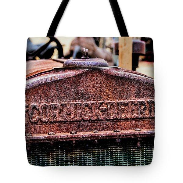 Mccormic Deering Tote Bag by Jon Burch Photography