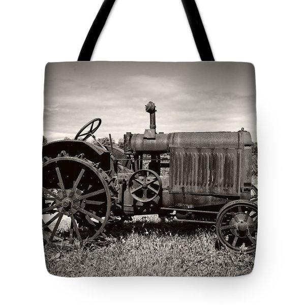 Mccormick Deering 15-30 Tote Bag by Debra and Dave Vanderlaan