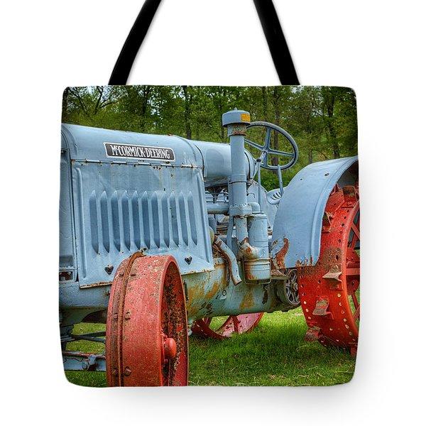 McCormick Deering Tote Bag by Bill  Wakeley