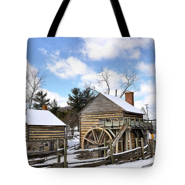 Mccormick Farm 3 Tote Bag by Todd Hostetter