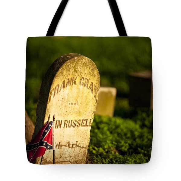 McGavock Confederate Cemetery Tote Bag by Brian Jannsen