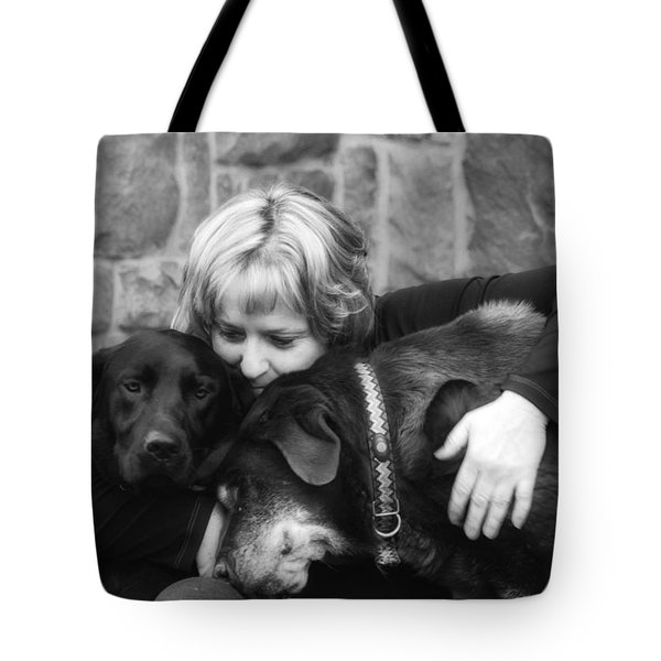 Me And My Pals Tote Bag by Guy Whiteley