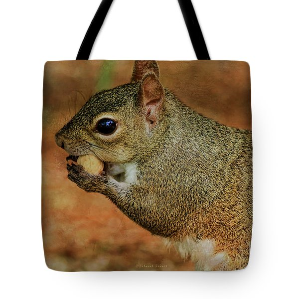 Me And My Peanut Tote Bag by Deborah Benoit