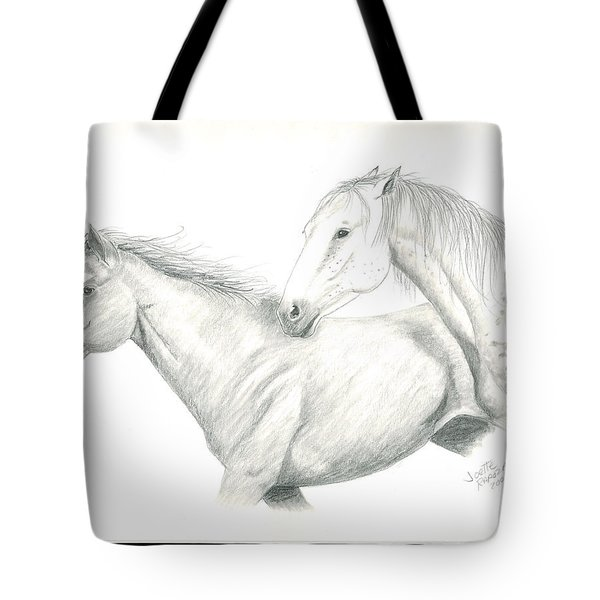 Me First Tote Bag by Joette Snyder