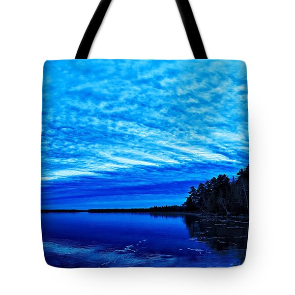 Meddybemps Blues 3 Tote Bag by Bill Caldwell -        ABeautifulSky Photography