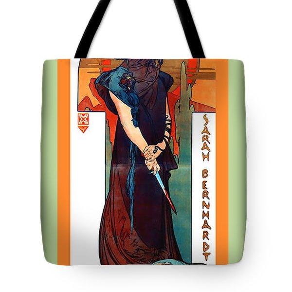 Medee Tote Bag by Alphonse Maria Mucha