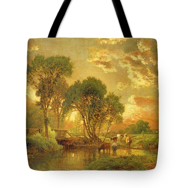Medfield Massachusetts Tote Bag by Inness