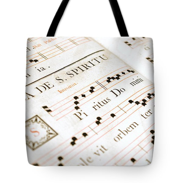 Mediavel Chorus Book  Tote Bag by Fabrizio Troiani