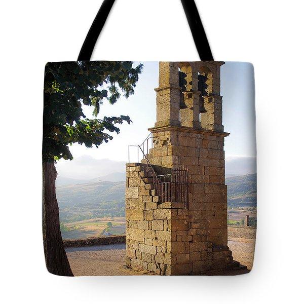 Medieval Campanile  Tote Bag by Carlos Caetano
