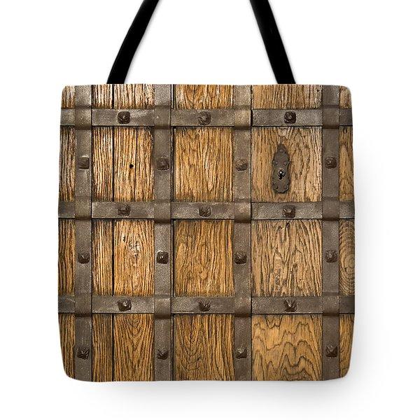 Medieval Castle Gate Tote Bag by Jose Elias - Sofia Pereira