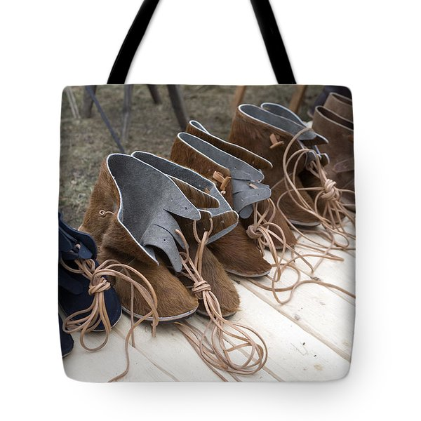 Medieval Fashion Shoes Tote Bag by Ladi  Kirn