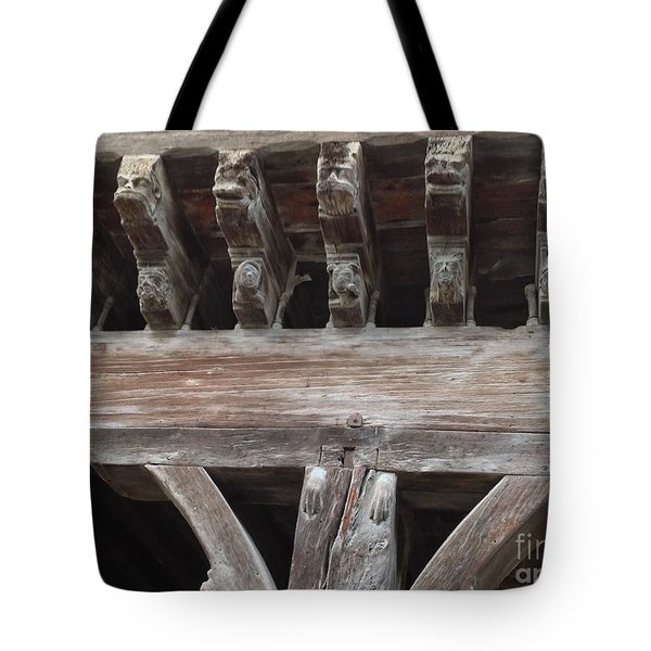 Medieval Market Place  Tote Bag by FRANCE  ART