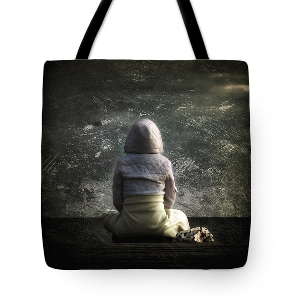 Meditation Tote Bag by Stelios Kleanthous