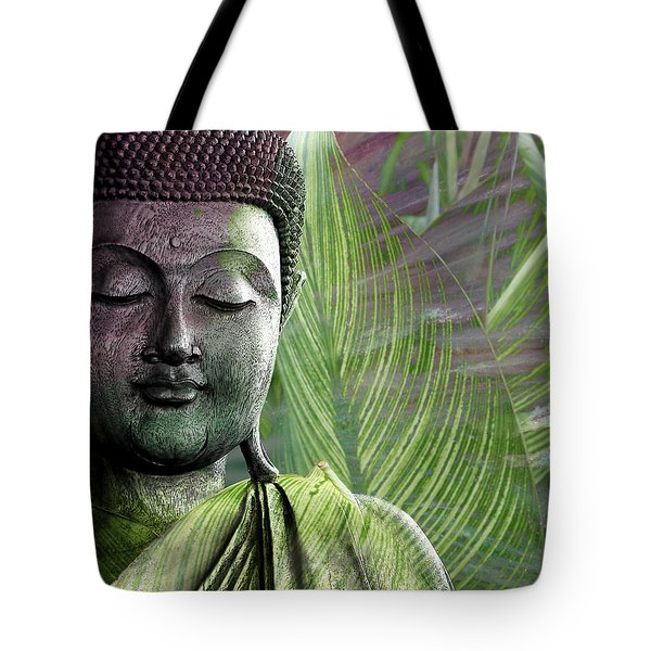 Meditation Vegetation Tote Bag by Christopher Beikmann