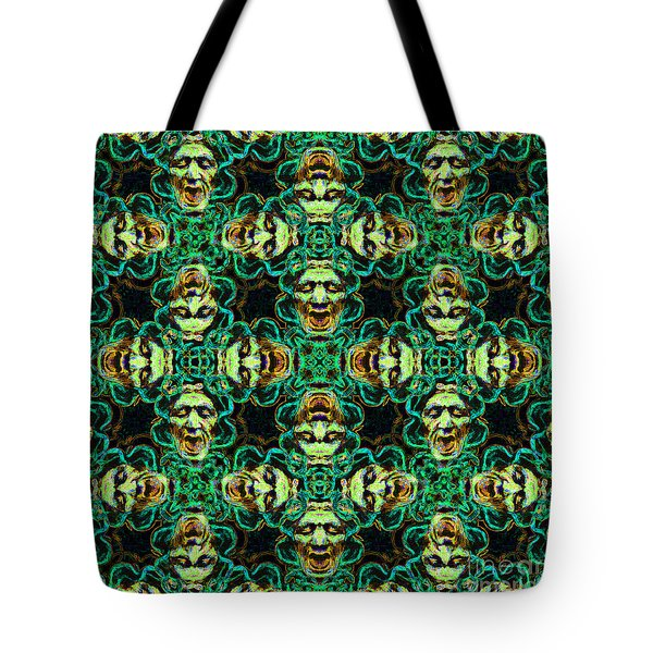 Medusa Abstract 20130131p38 Tote Bag by Wingsdomain Art and Photography