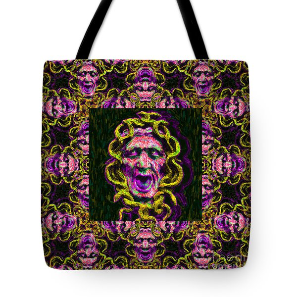 Medusa's Window 20130131m138 Tote Bag by Wingsdomain Art and Photography