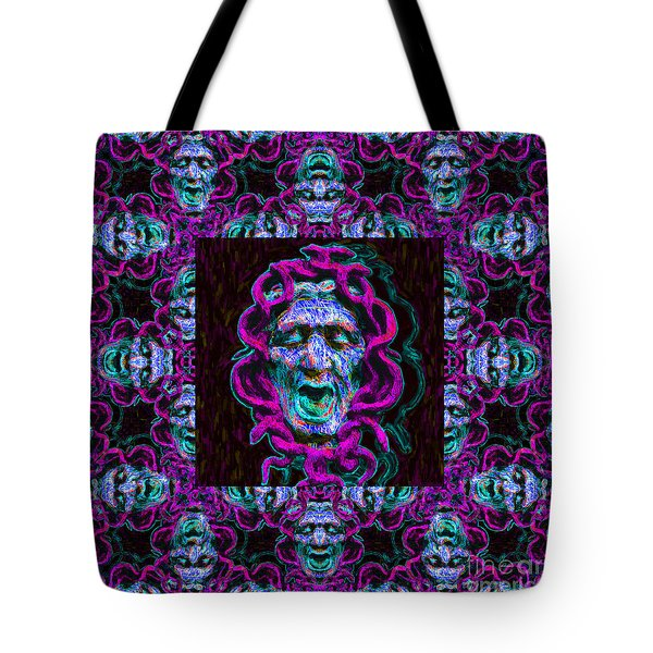 Medusa's Window 20130131m180 Tote Bag by Wingsdomain Art and Photography