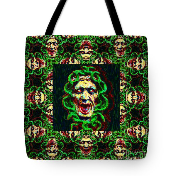 Medusa's Window 20130131p0 Tote Bag by Wingsdomain Art and Photography