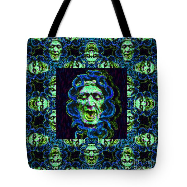 Medusa's Window 20130131p90 Tote Bag by Wingsdomain Art and Photography