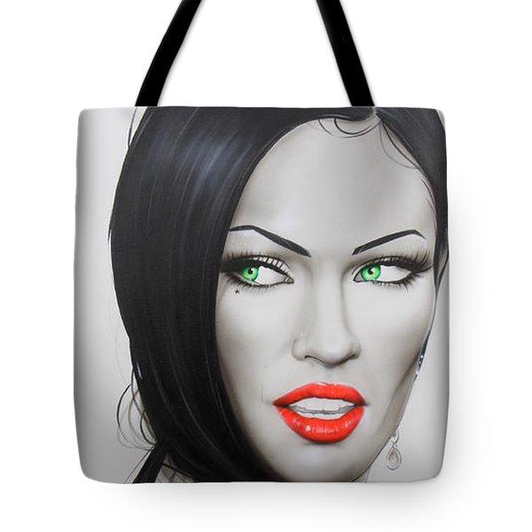 'Megan' Tote Bag by Christian Chapman Art