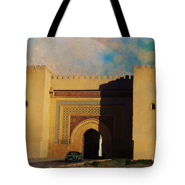 Meknes Tote Bag by Catf