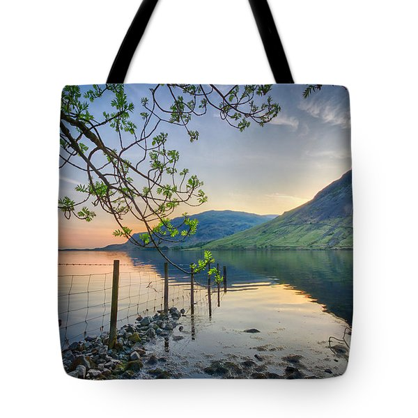 Melancholy Of Sunset Tote Bag by Evelina Kremsdorf