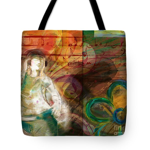 Melody Tote Bag by Bedros Awak