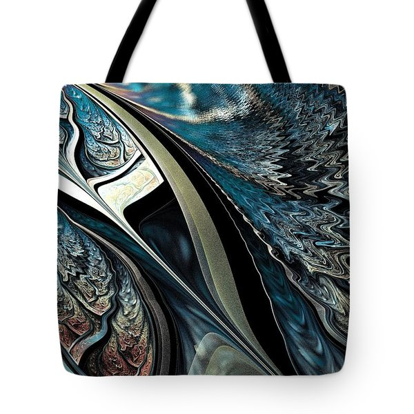 Melting Point Tote Bag by Anastasiya Malakhova