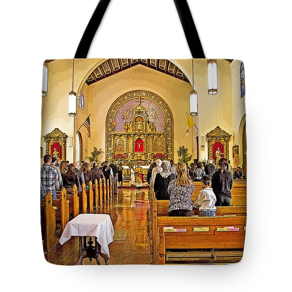 Memorial Tote Bag by Chuck Staley