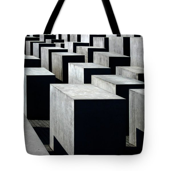 Memorial To The Murdered Jews Of Europe Tote Bag by RicardMN Photography