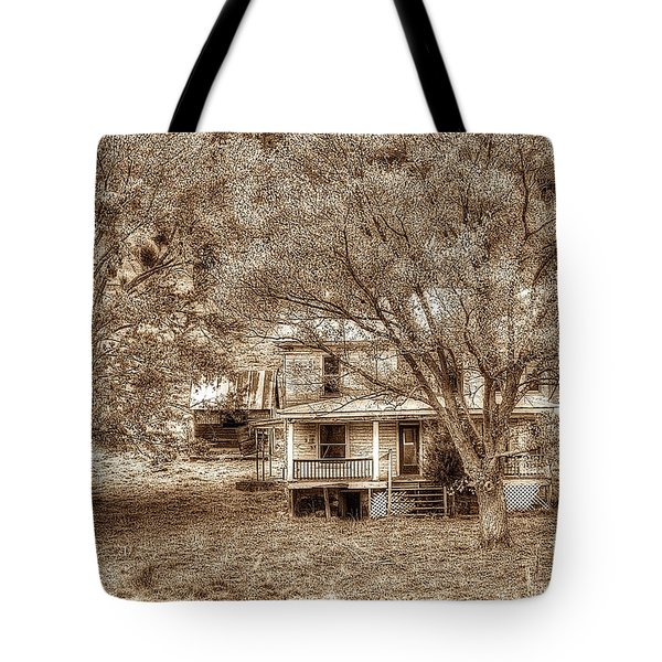 Memories Behind The Trees Tote Bag by Dan Friend