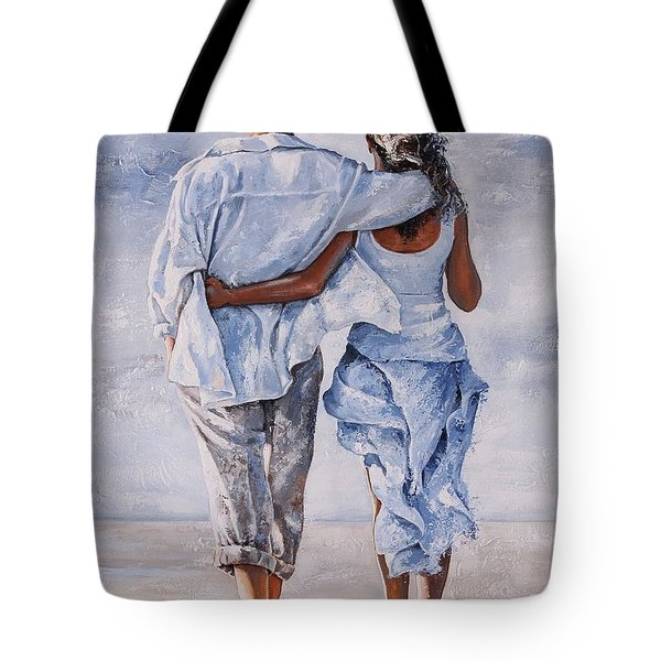 Memories Of Love Tote Bag by Emerico Imre Toth
