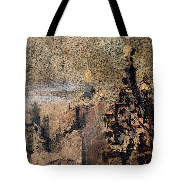 Memory Of Spain Tote Bag by Victor Hugo