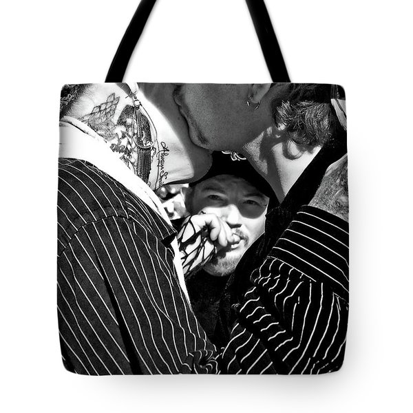 Menage A Trois Tote Bag by Kathleen K Parker