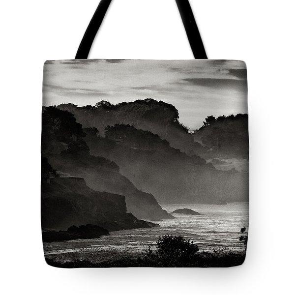 Mendocino Coastline Tote Bag by Robert Woodward