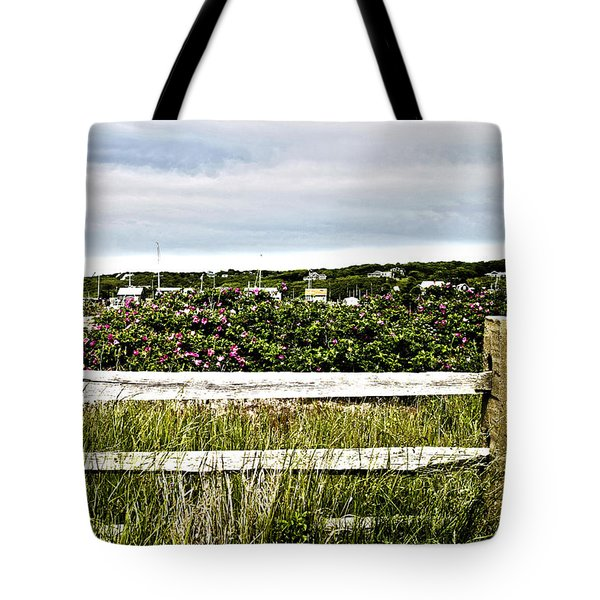 Menemsha Memories Tote Bag by Michelle Wiarda