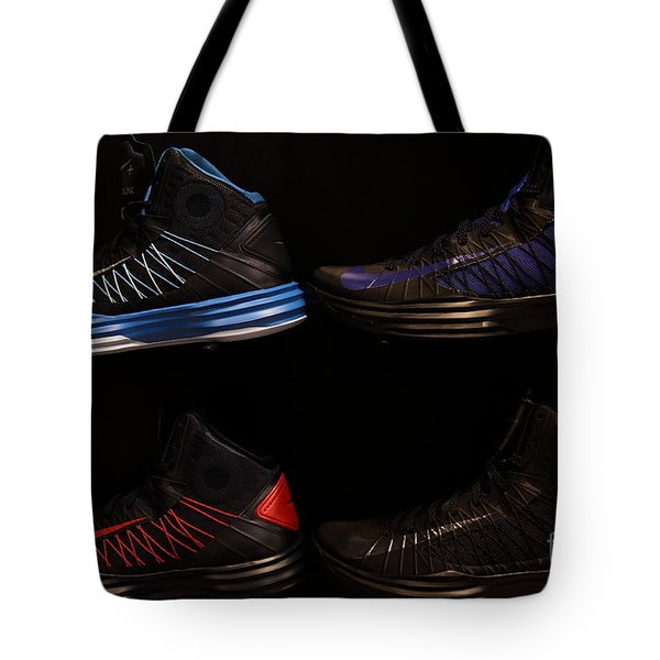 Men's Sports Shoes - 5D20654 Tote Bag by Wingsdomain Art and Photography