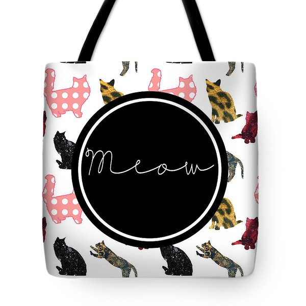 Meow Tote Bag by Pati Photography
