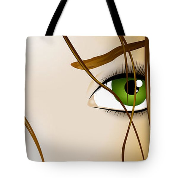 Meow Tote Bag by Sandra Hoefer