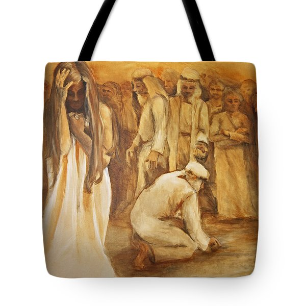 Mercy Tote Bag by Jani Freimann