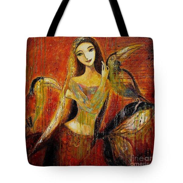 Mermaid Bride Tote Bag by Shijun Munns