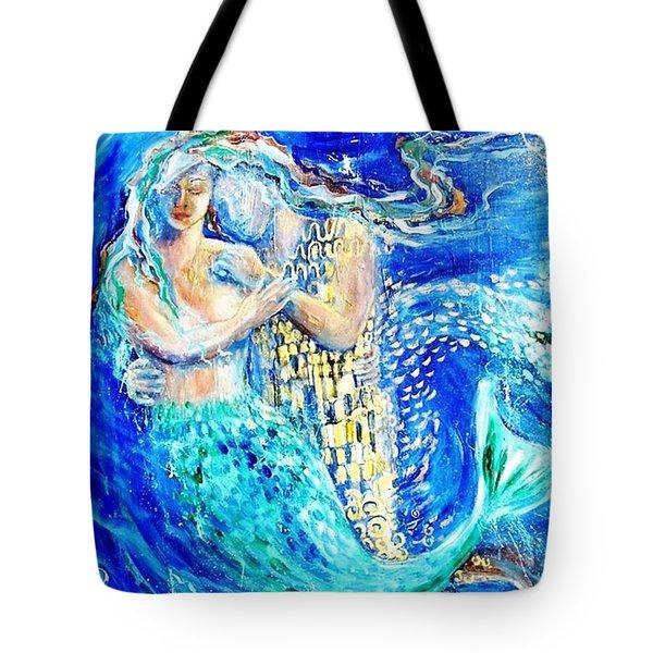 Mermaid Dreamer  Tote Bag by Trudi Doyle