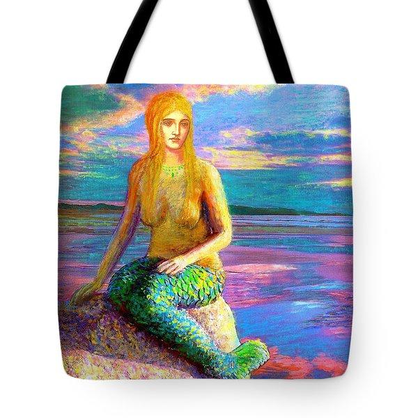 Mermaid Magic Tote Bag by Jane Small