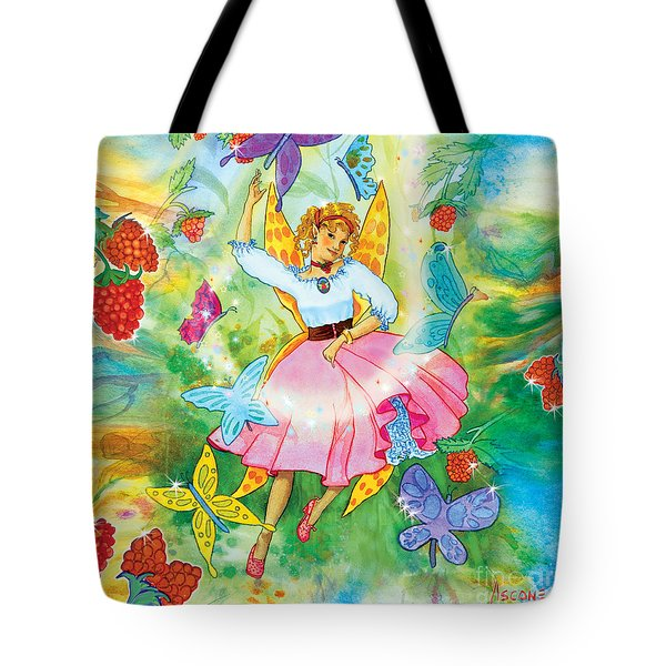 Merri Goldentree Dances Tote Bag by Teresa Ascone