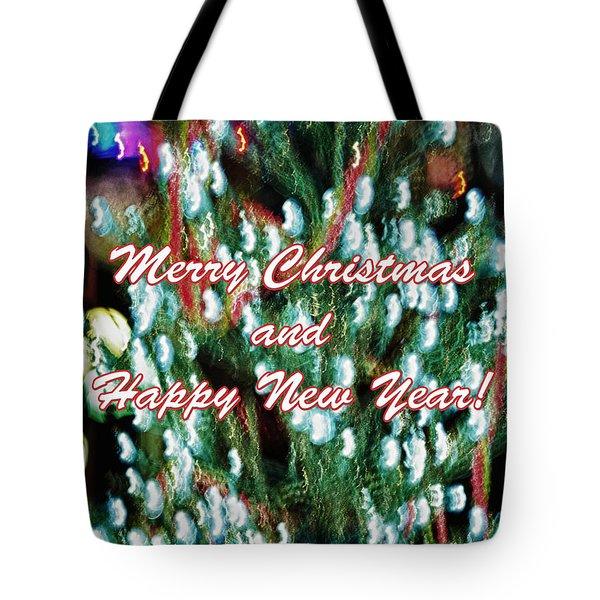 Merry Christmas 2 Tote Bag by Skip Nall