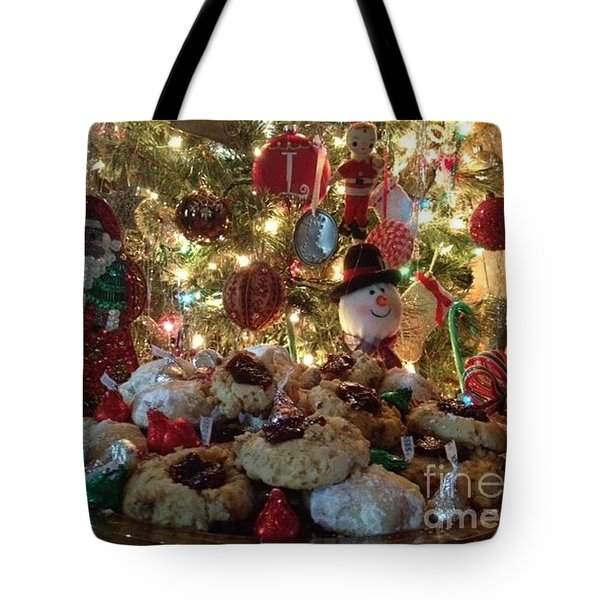 Merry Christmas Tote Bag by Laurie D Lundquist