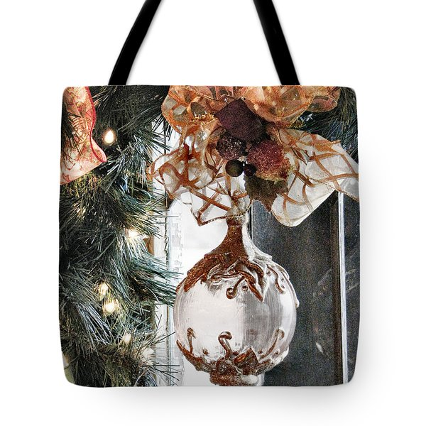 Merry Christmas Tote Bag by Rory Sagner