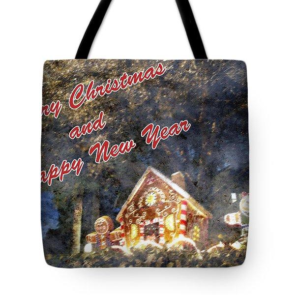 Merry Christmas Tote Bag by Skip Nall